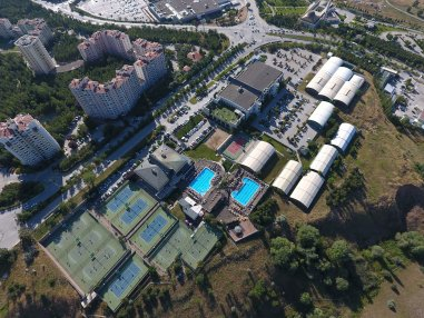 Topspin Tenis Akademisi Drone Görüntü